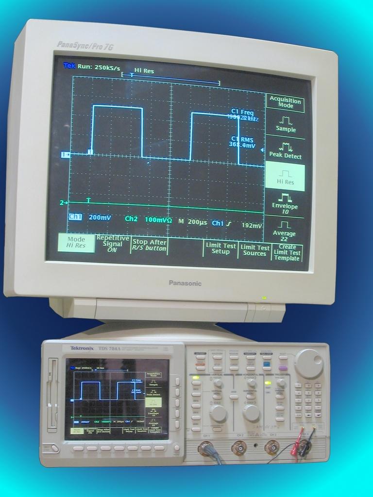 Pro Tek Oscilloscope : La galerie historique des techniques et sciences