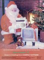 IBM Pub pere noel PCAT 1984 super compact PC abaque smith